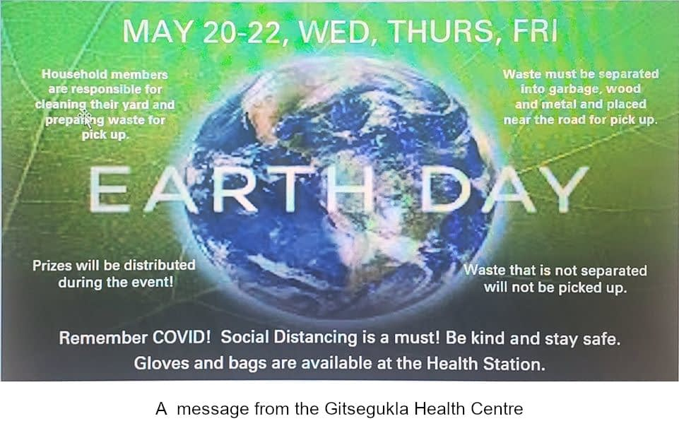 Earth Day – May 2020