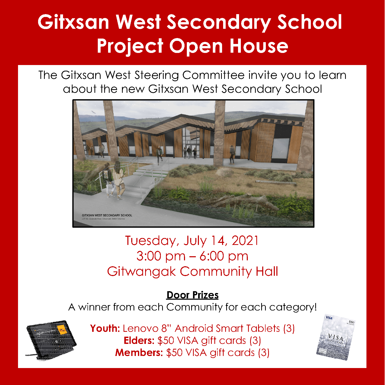Gitxsan West Secondary School – Open House